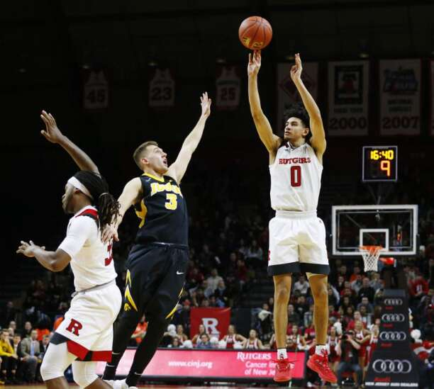 Iowa basketball knows Rutgers is no longer ... Rutgers