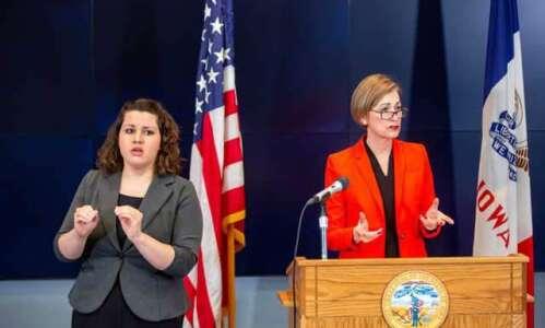 Watch: Iowa Gov. Kim Reynolds' coronavirus update for Tuesday, March…