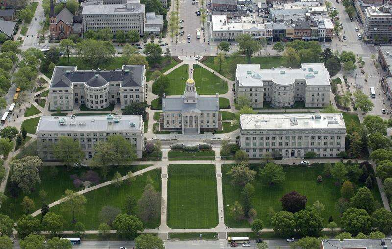 4 fraternities out at University of Iowa