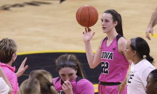 After just one season, Iowa's Caitlin Clark belongs to the…