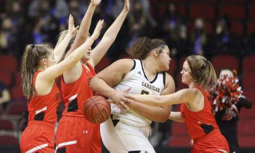 Springville pushes No. 1 Algona Garrigan to the wire at…
