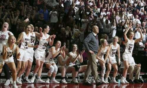 Photos: North Linn vs. Osage, Iowa Class 2A girls' state…