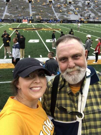 SNIDBITS, MORSELS AND MUSINGS: The view from Kinnick Stadium