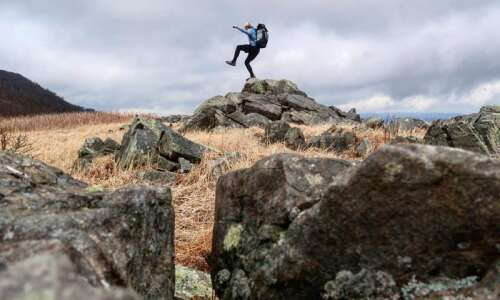 Coralville native takes on 'Triple Crown' of hiking, starting with…