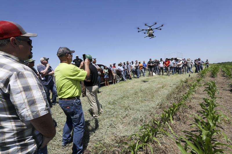 Drones for farming? High-tech gadgets could save farmers money and time in tough economy