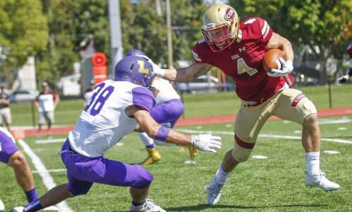 Coe rolls in Iowa Conference opener, 45-10, over Loras