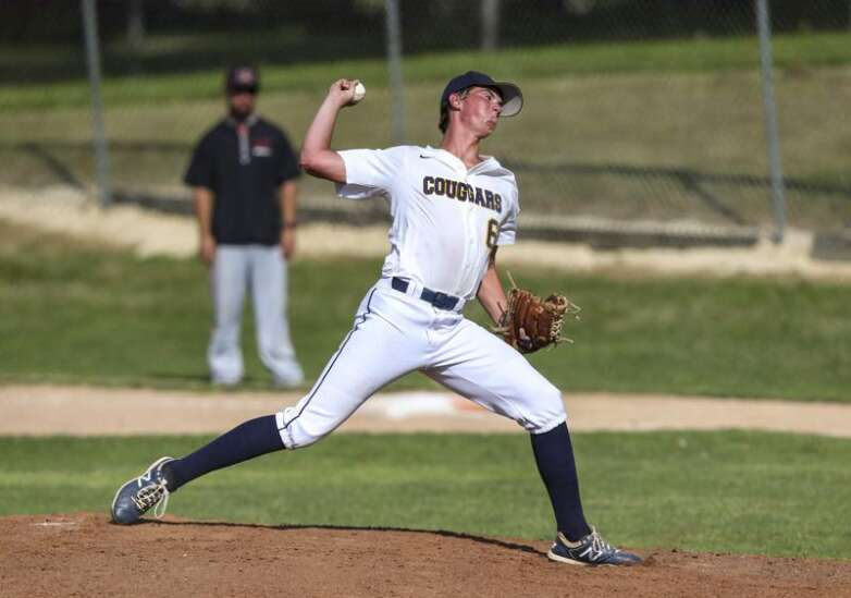Eli Green's gem powers Cascade past Anamosa in district baseball semifinal