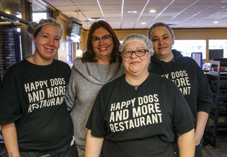 Opening Happy Dogs and More restaurant in C.R. marks milestone after woman's devastating accident