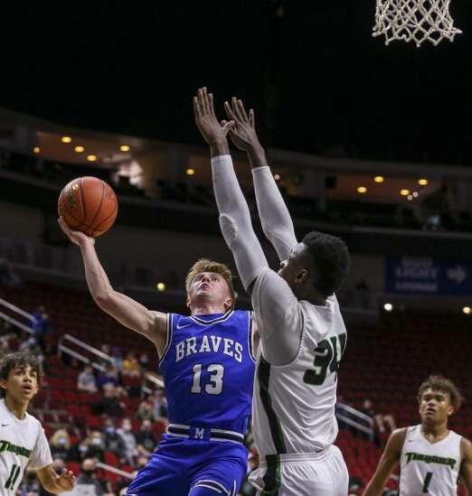 Photos: Montezuma vs. Grand View Christian, Iowa Class 1A boys state basketball semifinals