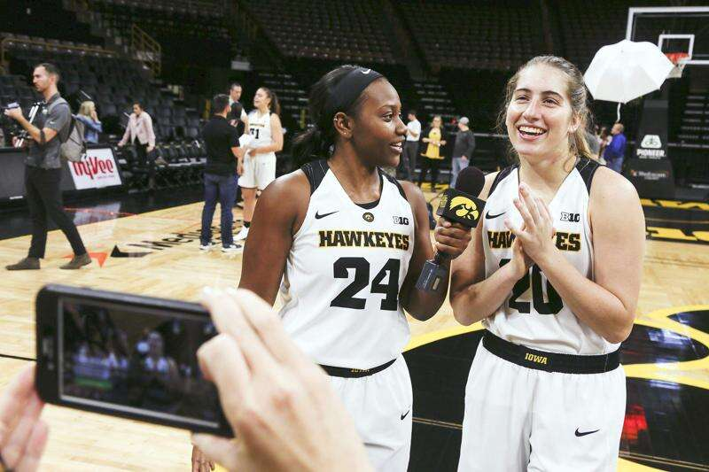 Departure of Megan Gustafson sends Iowa women's basketball back to a 4-out attack