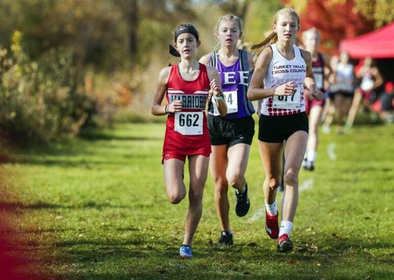 Photos: Iowa Class 1A cross country state qualifier at Cedar Falls