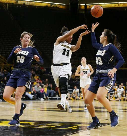Iowa women's basketball schedule about to make a turn