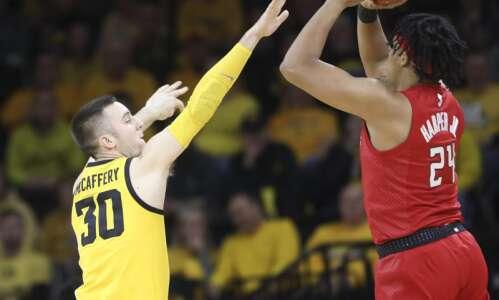 Iowa men's basketball tries to RAC up a big win…