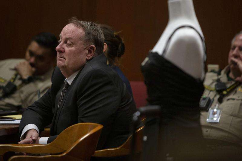 Jerry Burns shows little reaction when accused of killing Michelle Martinko