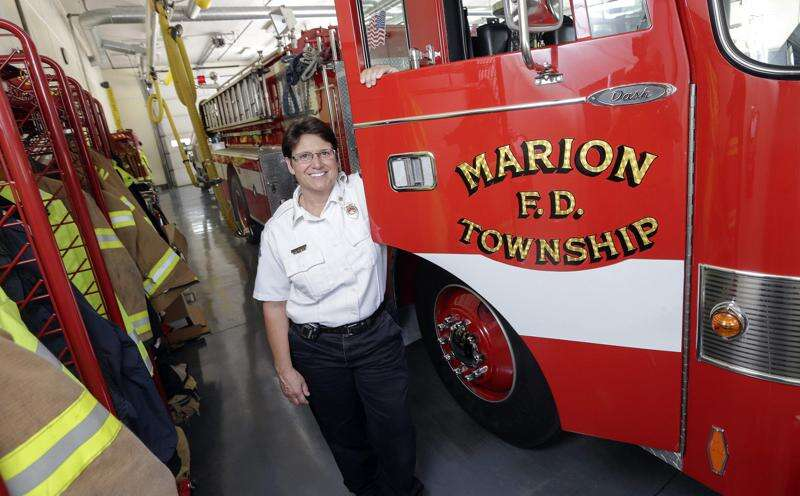 Marion's third fire station isn't built yet. The city is buying land for a fourth already