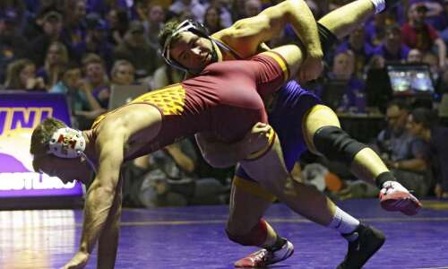 Wrestling Weekend That Was: UNI, Iowa State leave Las Vegas…