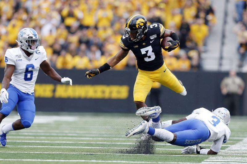 Tyrone Tracy's personal growth helps Iowa football change for the better