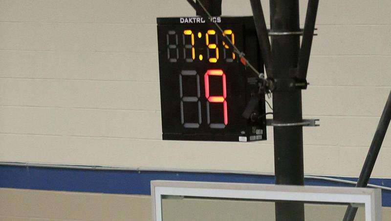 Iowa high school basketball to implement shot clock in 2022-23