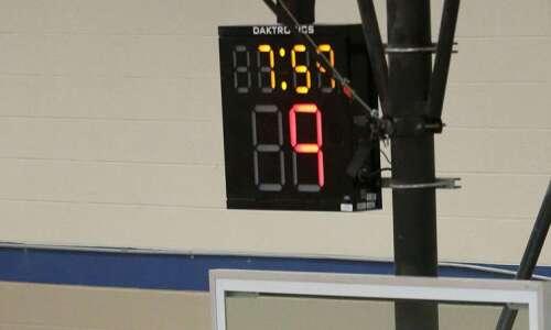 Shot clock coming to Iowa high school basketball