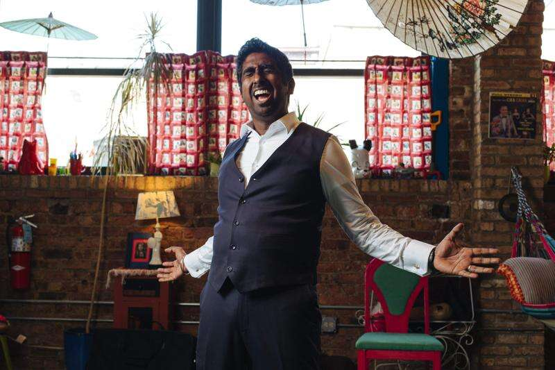 Zeshan Bagewadi is stirring up a cultural stew, and bringing it to Iowa City on Friday