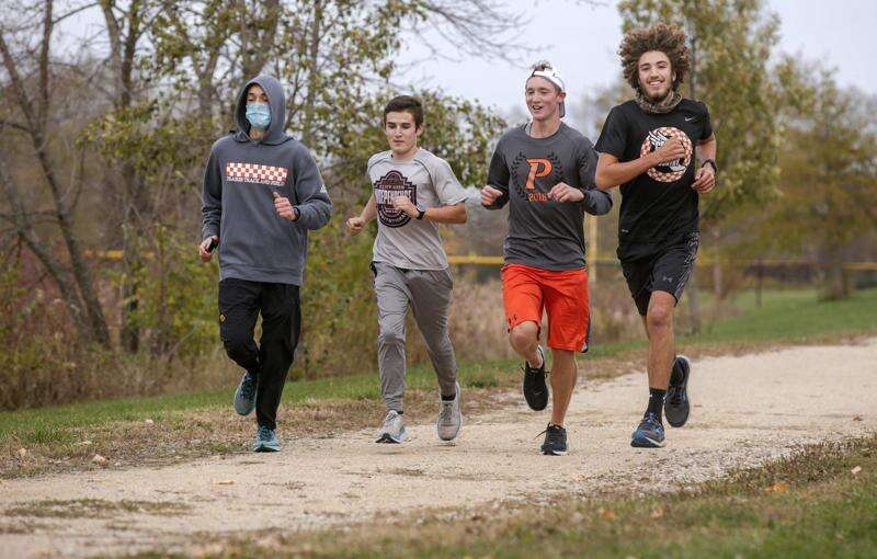 Prairie goes to state cross country with hopes coach recovering from cancer is there, too