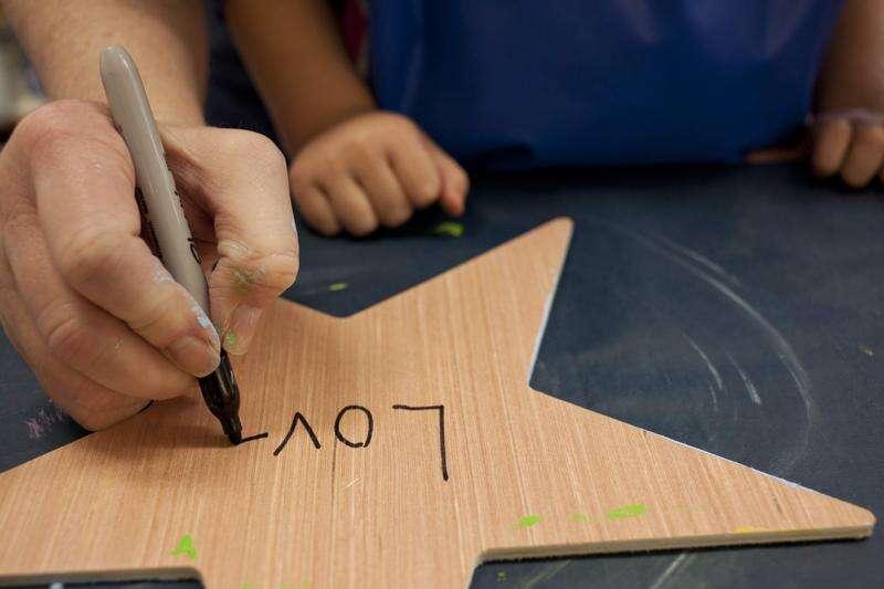 Mount Vernon preschool students paint Stars of Hope