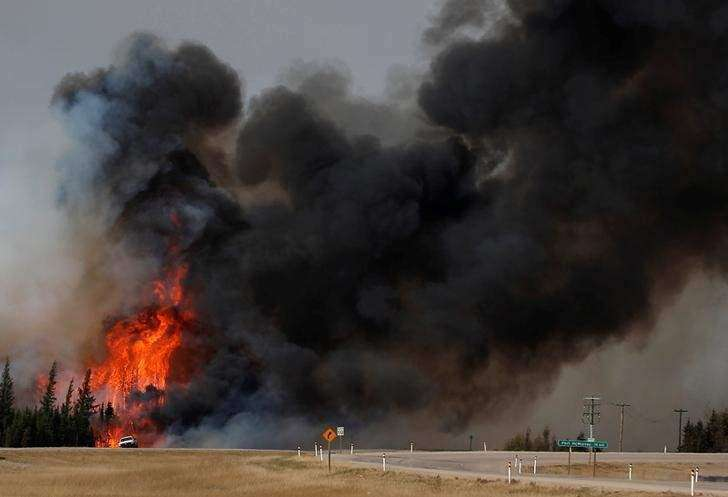 Canada getting on top of Alberta wildfire, but Fort McMurray off limits