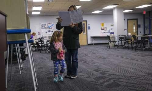 Incumbents Roesler, Eyestone keep Iowa City school board seats, and…