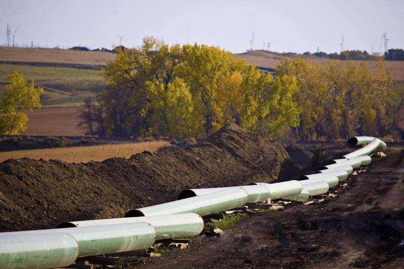 Texas energy company planning crude oil pipeline in Iowa
