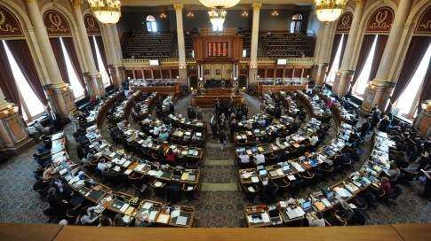 Budget lines drawn at Statehouse