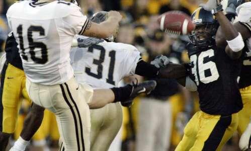 When Iowa put on a clinic in blocking kicks
