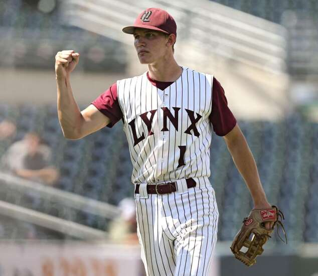 Jake Hilmer of North Linn is the 2019 Gazette Male Athlete of the Year