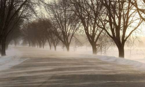 Wind chill advisory in effect in parts of Eastern Iowa