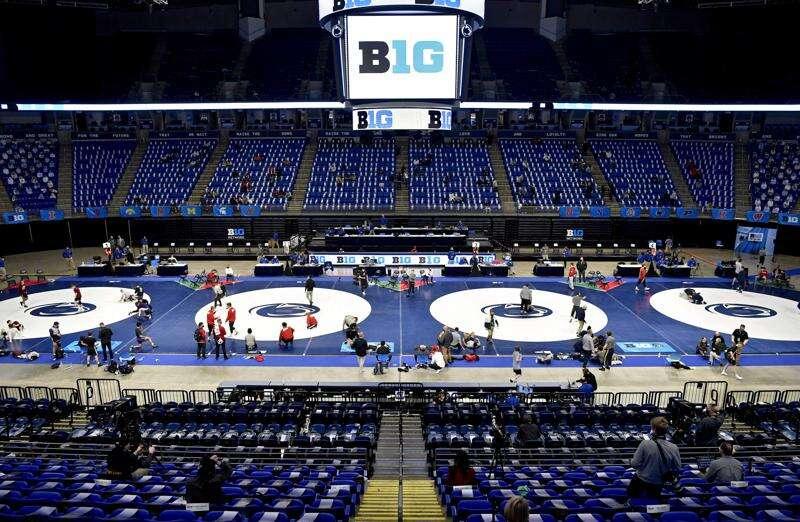 Iowa Hawkeyes crown 4 champions to repeat as Big Ten wrestling champions