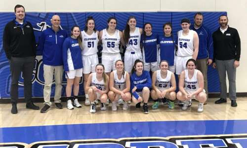 Clear Creek Amana girls' basketball is no flash in the…