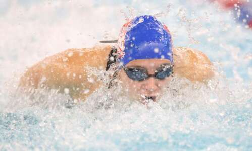 Depth carries Cedar Rapids Washington to regional swimming title