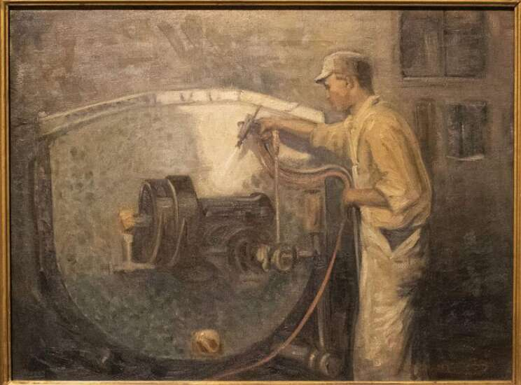 History Happenings: The Cherry Building was artist Grant Wood's first big commission