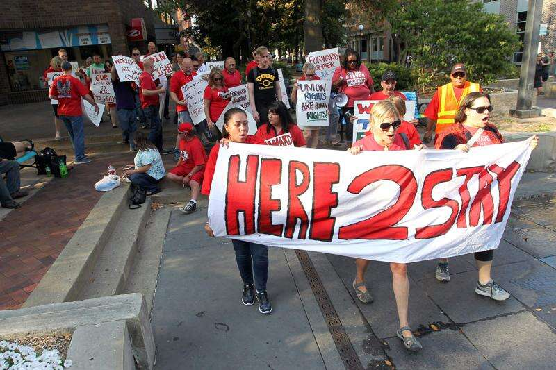 No relief in sight for Iowa low-wage workers