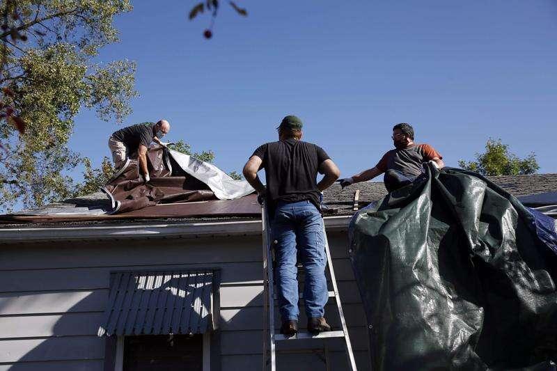 Matthew 25's volunteer week focuses on derecho repairs