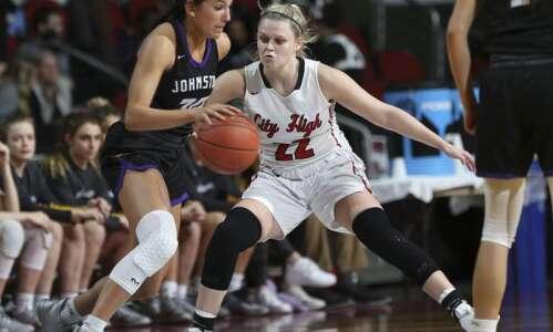 Photos: Iowa City High vs. Johnston, Iowa Class 5A girls'…