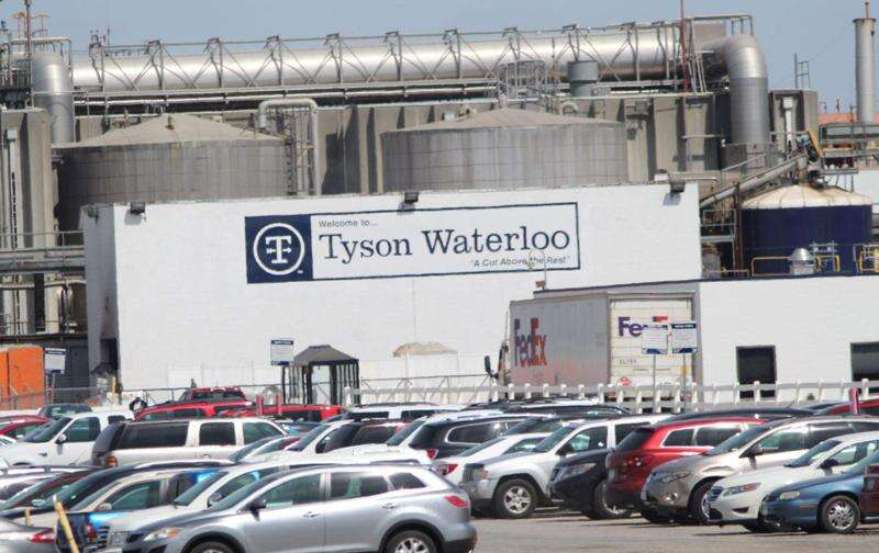 New Iowa coronavirus cases surge by 389 as Waterloo officials call for close of Tyson plant