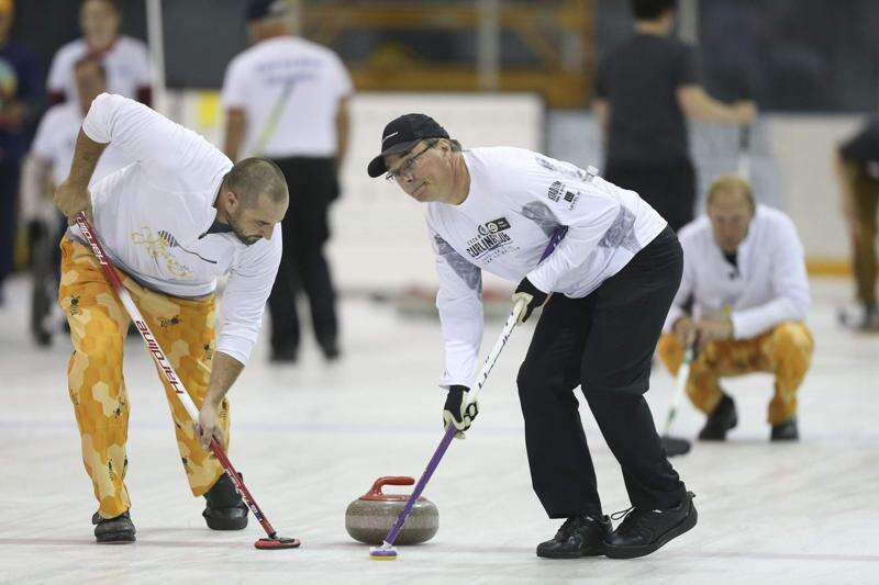 Curling is a sport that 'brings people together'