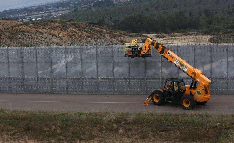 Repairing U.S. Mexico border wall a daily endeavor