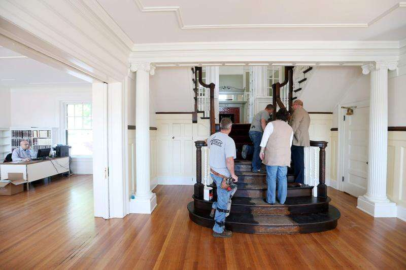The History Center prepares to reopen in restored Douglas Mansion in Cedar Rapids