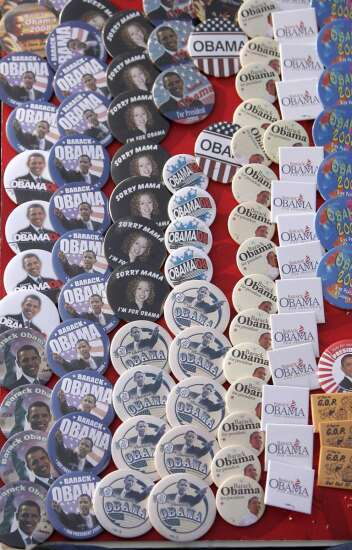 Do you have Obama memorabilia from his Iowa campaigns? Presidential center is on the hunt