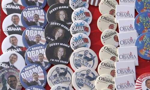Do you have Obama memorabilia from his Iowa campaigns? Presidential…