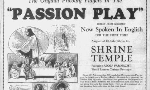 Time Machine: Passion Plays depicting life of Jesus Christ used…