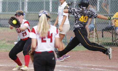 No. 1 Assumption rolls to 3A state softball title game