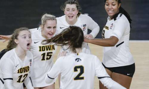 Photos: Iowa Hawkeyes volleyball vs. Nebraska Cornhuskers
