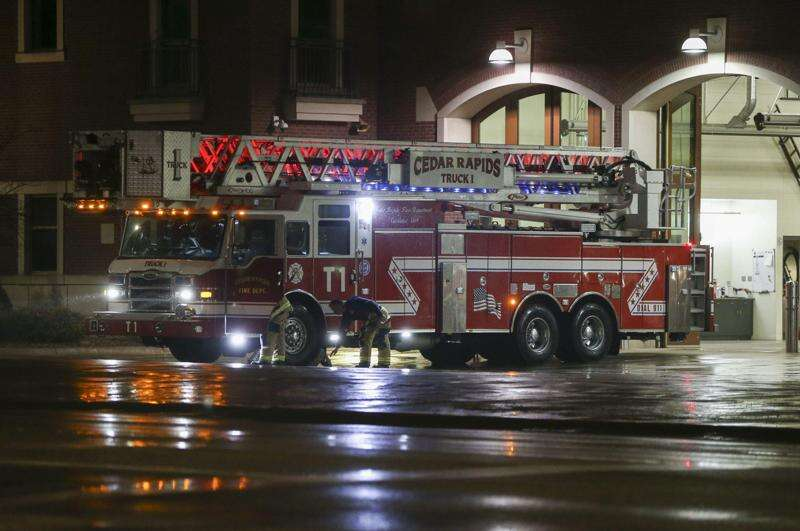 Cedar Rapids firefighter, two employees injured in fire at PMX Industries
